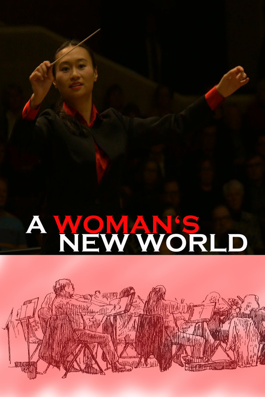 A Woman's New World-FRFF-Short-film-festival-2021-poster
