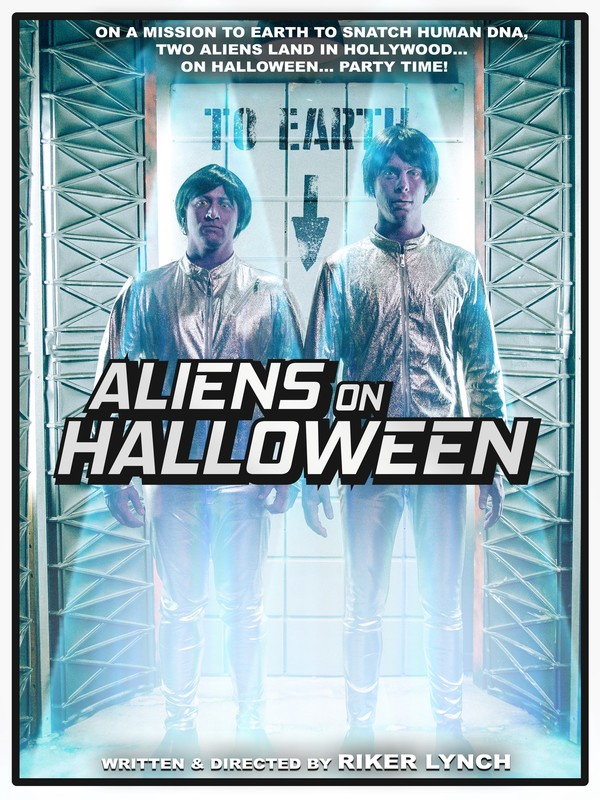 Aliens On Halloween-FRFF-Short-film-festival-2021-poster