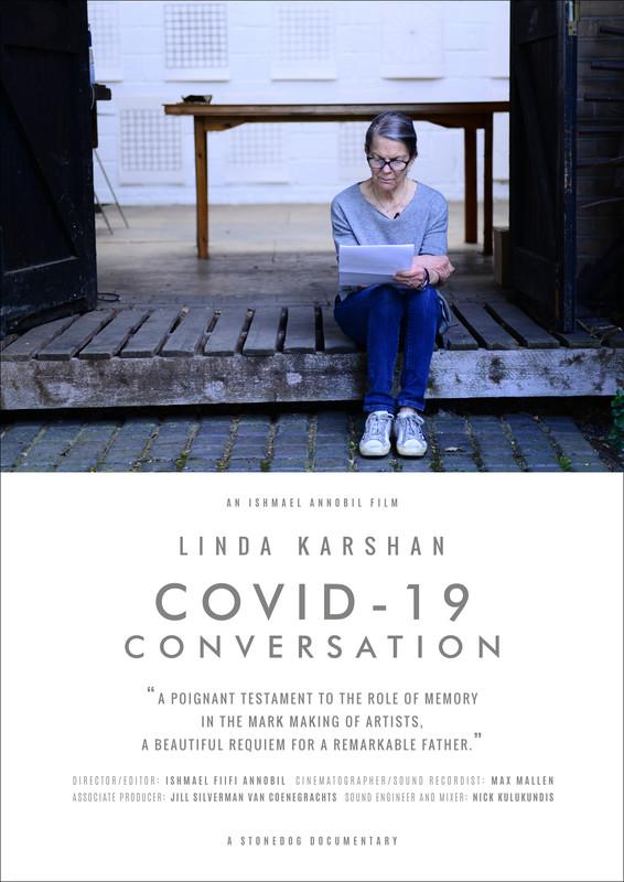LINDA KARSHAN COVID-19 CONVERSATION-FRFF-Short-film-festival-2021-poster