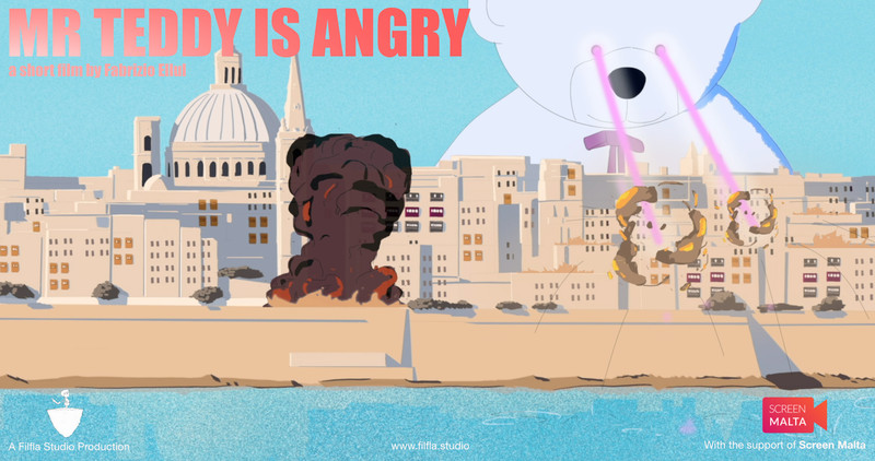 Mr. Teddy is Angry-FRFF-Short-film-festival-2021-poster