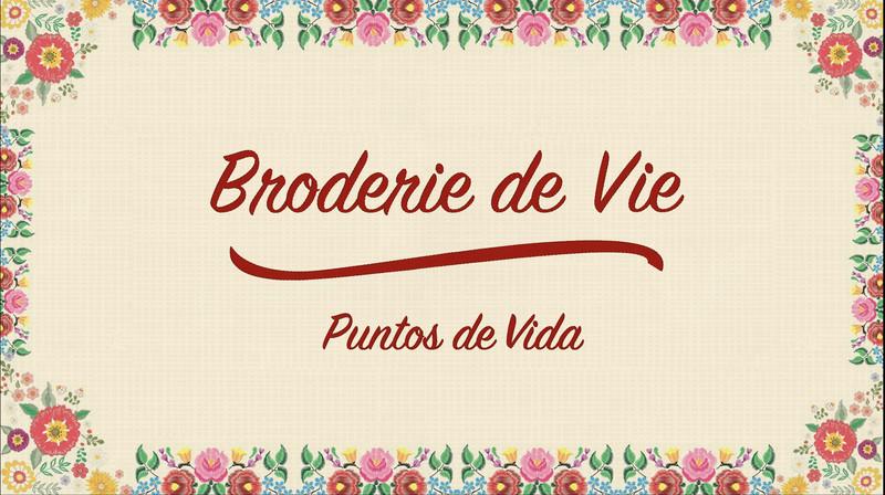 Puntos de Vida (Broderie de Vie)-FRFF-Short-film-festival-2021-poster